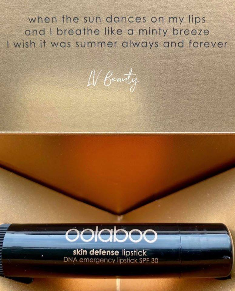 Oolaboo skin defense dna emergency lipstick spf 30