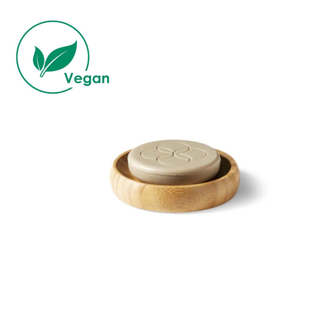 Oolaboo eco shampoo bar met de bamboo dish (set) 70 gr
