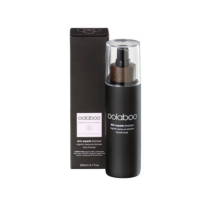 Oolaboo skin superb organic spray-on bronzer 200 ml