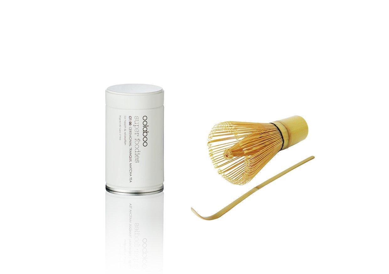 Oolaboo ceremonial tranquil matcha tea 80 gr + tools