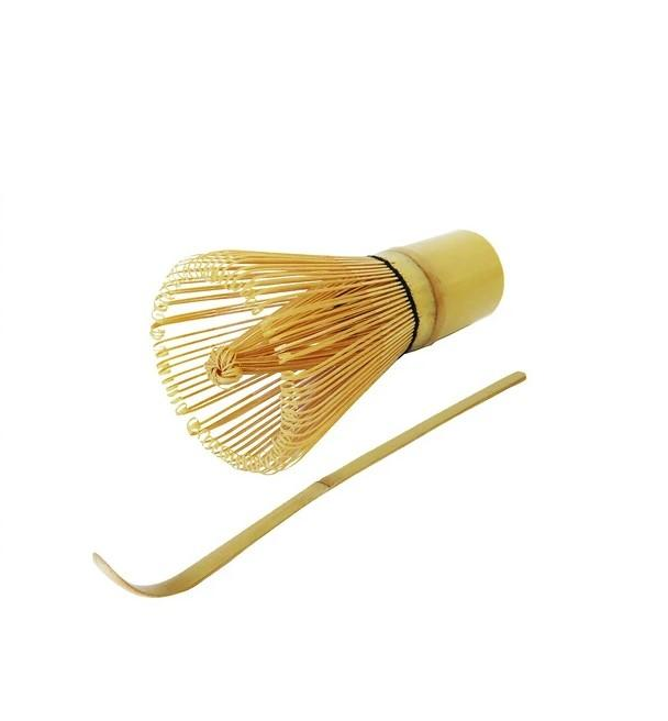 Matcha whisk and scoop set