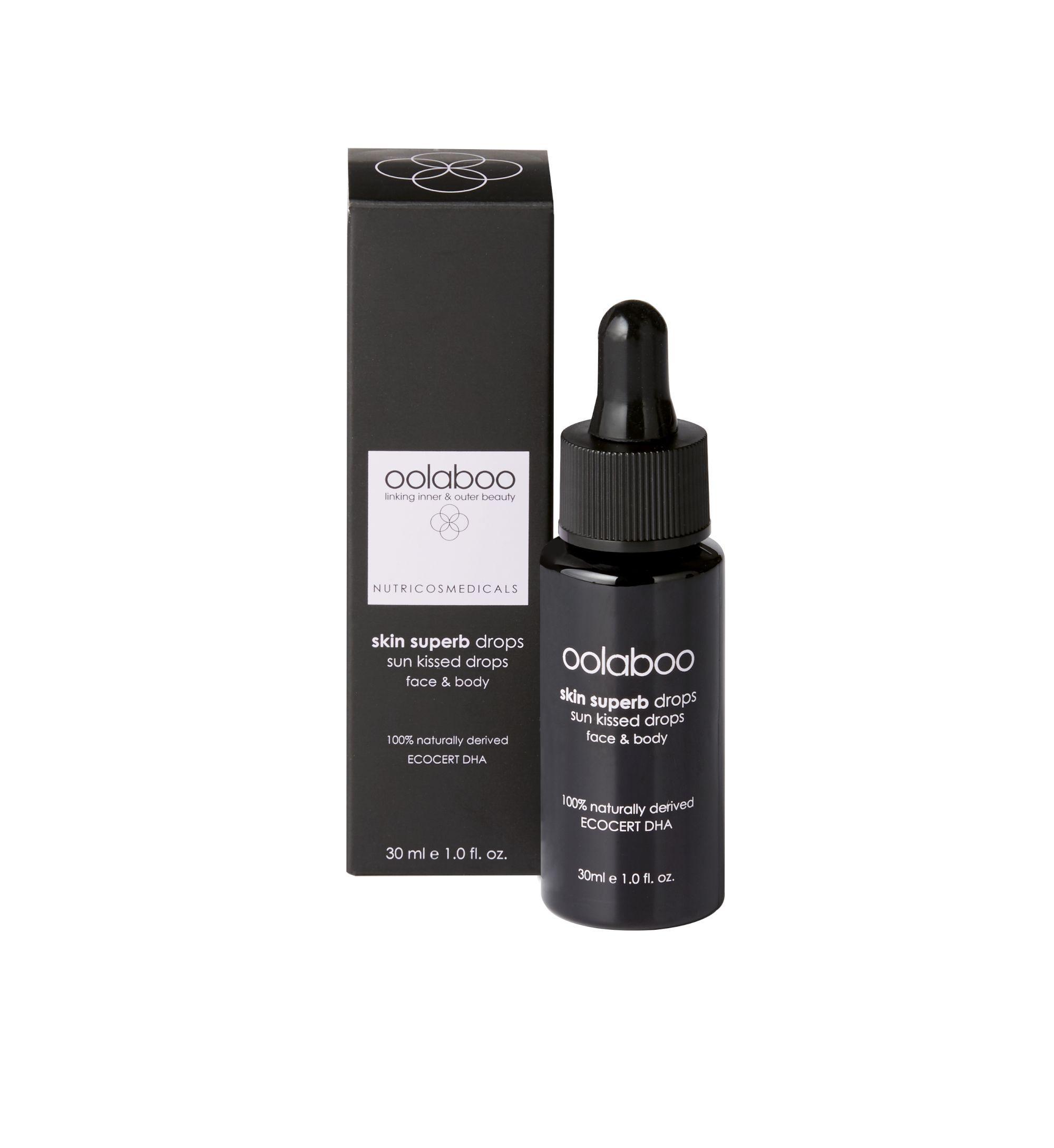 Oolaboo skin superb sun kissed drops 30 ml