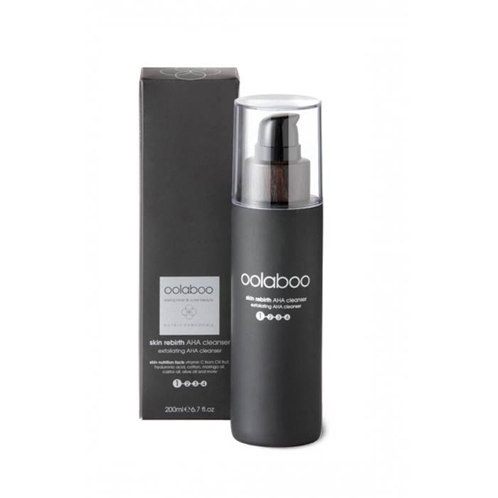Oolaboo skin rebirth aha cleanser 200 ml